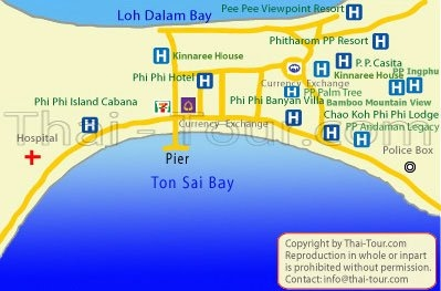 Map of P.P. Casita Resort
